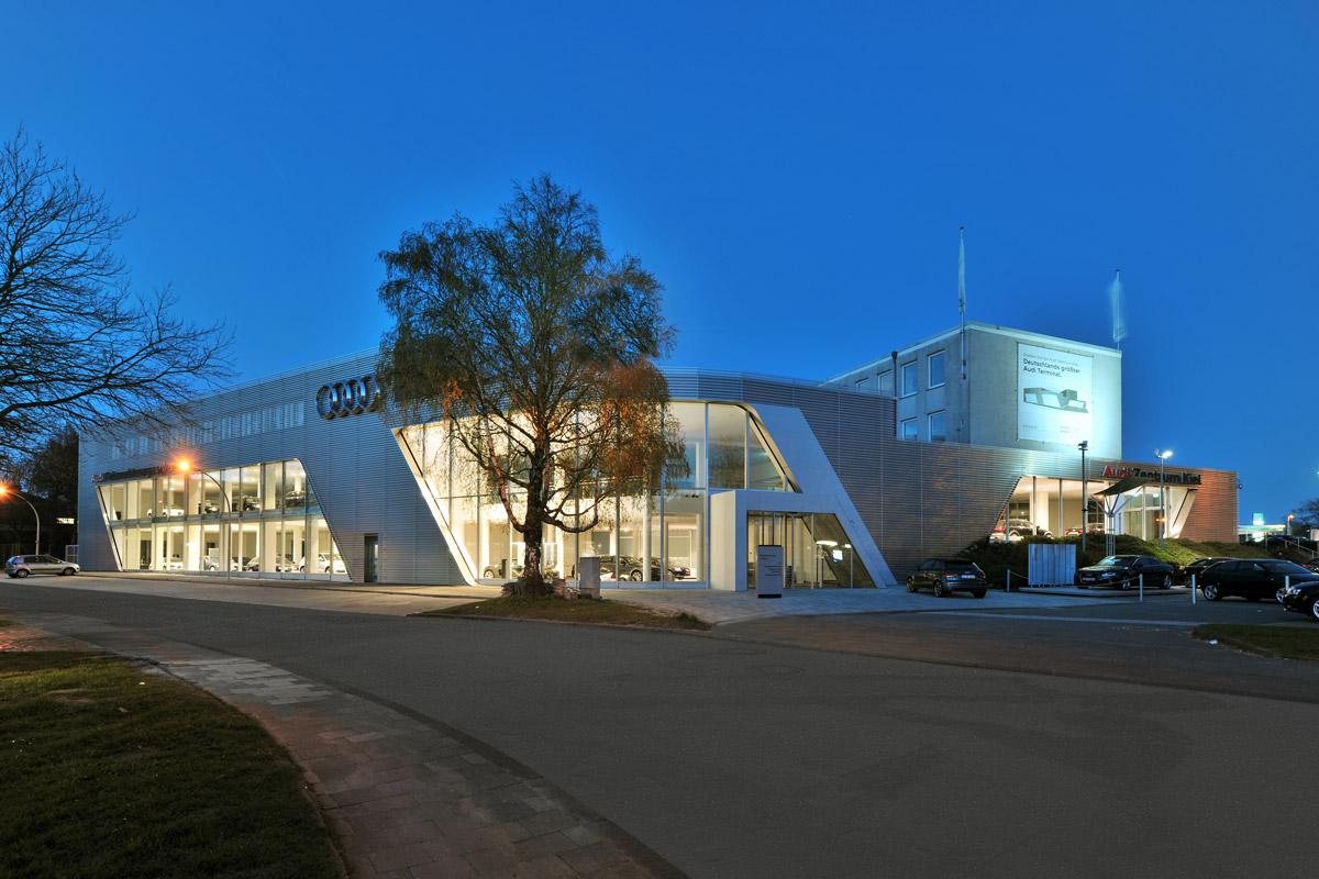 Architekten In Kiel audi zentrum kiel ax5 architekten